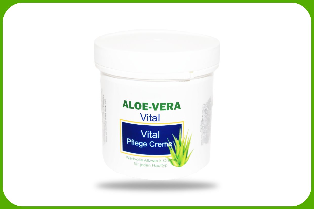 aloe vera vital pflege creme online kaufen. Black Bedroom Furniture Sets. Home Design Ideas